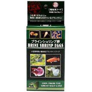 ニチドウ 稚魚用飼料 ブラインシュリンプ エッグス 100g(20g×5)|ebisupet