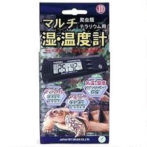 ニチドウ マルチ湿・温度計 爬虫類・テラリウム用|ebisupet