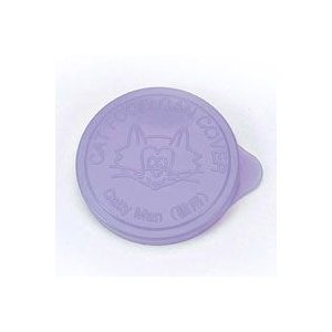 ドギーマン キャットフード缶カバー ミニ缶サイズ用 パープル 2枚|ebisupet
