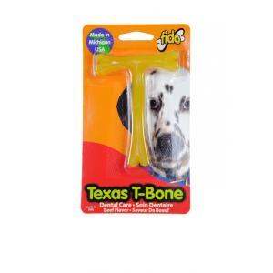fido テキサスTボーン ビーフの香り Sサイズ(愛犬用デンタルおもちゃ)【パッケージ凹み、汚れ有り】【返品不可】 ebisupet