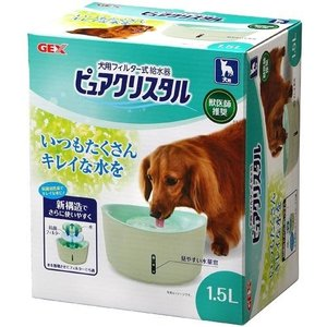 ジェックス ピュアクリスタル 1.5L 犬用【パッケージに凹み、汚れ有り】|ebisupet