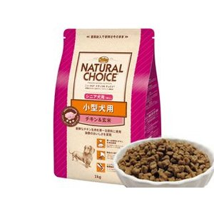 ニュートロ ナチュラルチョイス 小型犬 シニア犬用 チキン&玄米 1kg|ebisupet