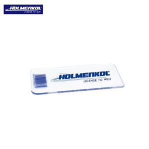 メール便配送 ホルメンコール プラスチック スクレイパー 3mm 20630 チューンナップ スクレーパー ボード スキー ebisuya-sp