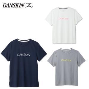 メール便配送 ダンスキン レディース Tシャツ SoCool クルーT DB79120 フィットネス スポーツ 半袖|ebisuya-sp