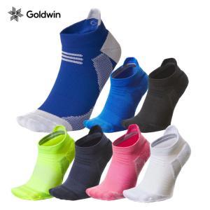 【メール便配送】ゴールドウィン シースリーフィット ソックス アーチサポート ショートソックス GC20300 ユニセックス メンズ レディース ランニング 靴下 ebisuya-sp