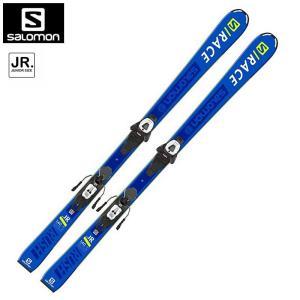 サロモン スキー ビンディング 2点セット L40890600 S/RACE RUSH Jr + L6 GW J ジュニア 子供|ebisuya-sp