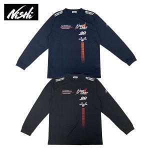 ニシ・スポーツ 長袖Tシャツ メンズ レディース アスリートプライド ロングスリーブシャツ N62-920 05 07 陸上 トラック&フィールド