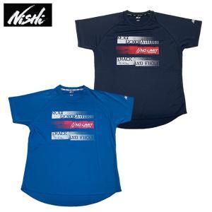 メール便配送 ニシ・スポーツ 半袖Tシャツ 機能Tシャツ メンズ レディース 記念 T&F SSシャツ B(NO LIMIT ATHLETE)N63-K40BS 05 45 ebisuya-sp