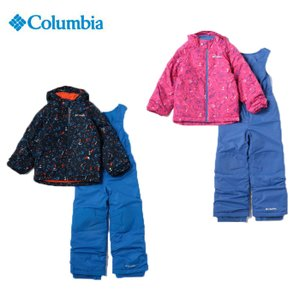 columbia コロンビアフロスティスロープセットSY1092 110 120サイズキッズ 子供 スキーウェア スノーウェアスキー スノーボード 雪遊び