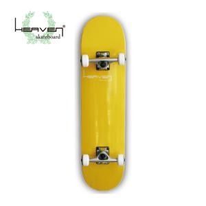 ヘブン スケートボード コンプリート VITAMIN バナナイエロー 31インチ カナディアンメイプル 入門 中級向け|ebisuya-sp
