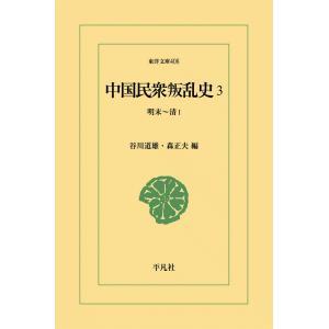 中国民衆叛乱史 (3) 明末〜清? 電子書籍版 / 編:谷川道雄/森正夫|ebookjapan
