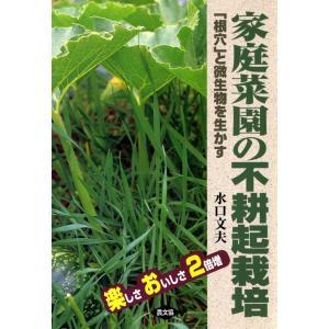【初回50%OFFクーポン】楽しさおいしさ2倍増 家庭菜園の不耕起栽培 -「根穴」と微生物を生かす- 電子書籍版 / 水口 文夫|ebookjapan