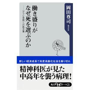 働き盛りがなぜ死を選ぶのか 〈デフレ自殺〉への処方箋 電子書籍版 / 岡田尊司