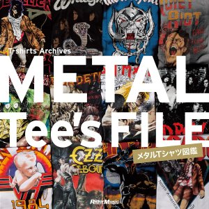 METAL Tee's FILE メタルTシャツ図鑑 電子書籍版 / 著:リットーミュージック出版部|ebookjapan