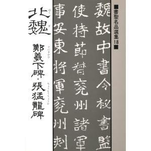 書聖名品選集(18)北魏 : 鄭義下碑・張猛龍碑 電子書籍版 / 解説:桃山艸介|ebookjapan