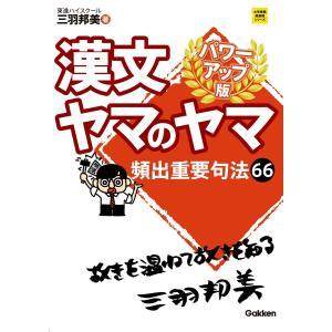【初回50%OFFクーポン】漢文ヤマのヤマ パワーアップ版 電子書籍版 / 三羽 邦美