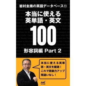 【初回50%OFFクーポン】岩村圭南の英語データベース11 本当に使える英単語・英文100 形容詞編Part2 電子書籍版 / 著:岩村圭南|ebookjapan