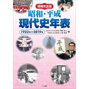 増補完全版 昭和・平成現代史年表 電子書籍版 / 神田文人(編)/小林英夫(編)