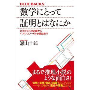 数学にとって証明とはなにか ピタゴラスの定理からイプシロン・デルタ論法まで 電子書籍版 / 瀬山士郎