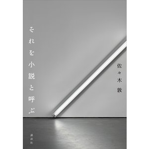 それを小説と呼ぶ 電子書籍版 / 佐々木敦|ebookjapan