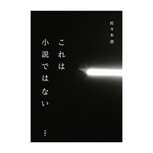 これは小説ではない 電子書籍版 / 佐々木敦|ebookjapan