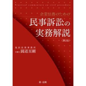 企業法務のための民事訴訟の実務解説<第2版> 電子書籍版 / 著者:圓道 至剛
