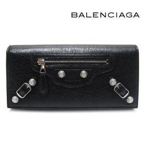 バレンシアガ BALENCIAGA 財布 長財布 GIANT CONTINENTAL ジャイアントコンチネンタル ブラック 253054 D940N 1000|ebsya