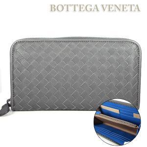 ボッテガ ヴェネタ BOTTEGA VENETA 長財布 ラウンドファスナー 114076 VBD51 8967|ebsya