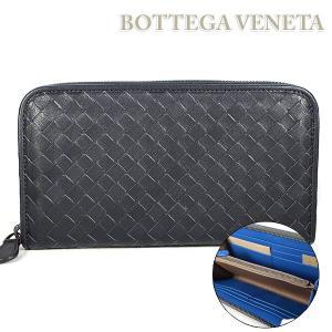 ボッテガ ヴェネタ BOTTEGA VENETA 長財布 ラウンドファスナー 114076 VBD51 8974|ebsya