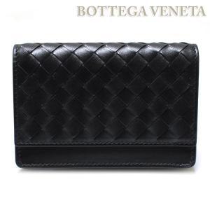 ボッテガヴェネタ BOTTEGA VENETA 名刺入れ カードケース ブラック  174646-V4651-1000|ebsya