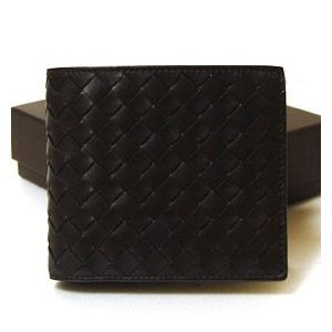 ボッテガヴェネタ BOTTEGA VENETA 財布 メンズ 二つ折財布 ダークブラウン  193642-V4651-2040|ebsya