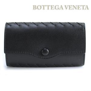 ボッテガヴェネタ BOTTEGA VENETA 6連キーケース ボッテガ・べネタ  ブラック 284137 V001N 1000|ebsya