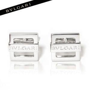 ブルガリ BVLGARI カフス シルバー 《ロゴ刻印》 GM852969|ebsya