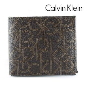 カルバンクライン CK 二つ折り財布 メンズ 財布 CalvinKlein モノグラム ブラウン 79463 CHO|ebsya