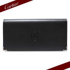 カルティエ Cartier 長財布 カルティエ カボション 財布 ブラック L3000585|ebsya
