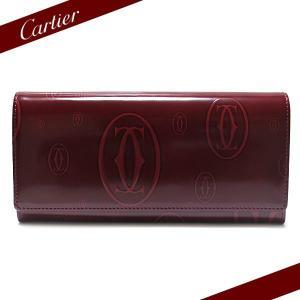 カルティエ Cartier 長財布 財布 ハッピーバースデー ボルドー L3001281|ebsya