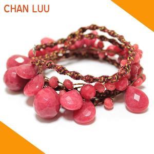 チャンルー CHAN LUU ネックレス 正規品 NS 8941 DEEP RED ディープレッド|ebsya