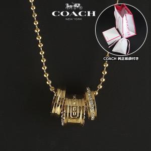 コーチ COACH  ミニロンデル ネックレス ペンダント レディース 95406 GD/GD|ebsya