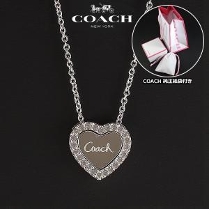 コーチ COACH スターリング コンバーチブル ハート ネックレス ペンダント レディース 96592 SV/C6|ebsya