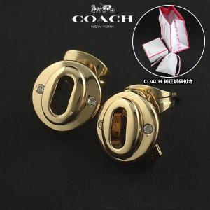 コーチ COACH  レイヤー ド マルチ オーバル パヴェ スタッズ  ピアス  ハート レディース 99971 GLD|ebsya