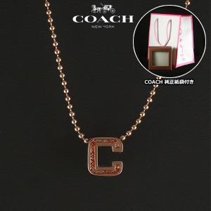 コーチ COACH  アウトレット Cロゴ ネックレス ペンダント レディース F90810 RSCLE|ebsya