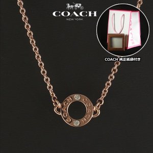 コーチ COACH  アウトレット オープンリングチェーン ネックレス ペンダント レディース F99931 RGD|ebsya