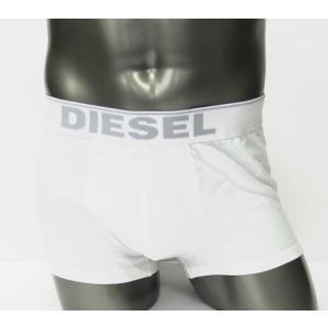 ディーゼル DIESEL メンズアンダーウェア ボクサーパンツ ホワイト ABEO-ML030-100|ebsya