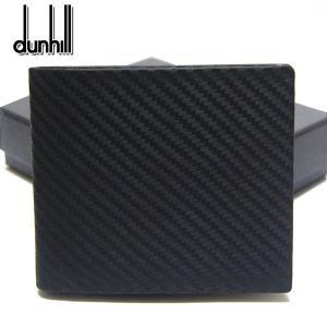 ダンヒル dunhill 財布 折財布 サイドカーガンメタル ブラック L2F232A メンズ 2つ折 財布|ebsya