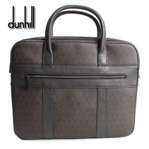ダンヒル dunhill メンズ ビジネスバッグ ウィンザー ダブルジップ ブラウン ブリーフケース L3N741B|ebsya