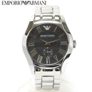 エンポリオ アルマーニ EMPORIO ARMANI 腕時計 ラウンド ブラック メンズ AR0680|ebsya