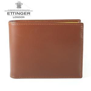エッティンガー ETTINGER 二つ折り財布 メンズ ブライドルレザー BH 141JR HAVANA ハバナ|ebsya
