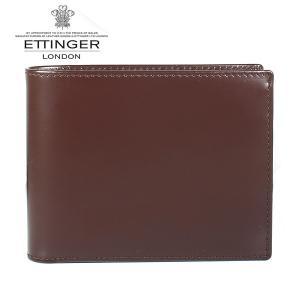 エッティンガー ETTINGER 二つ折り財布 メンズ ブライドルレザー BH 141JR NUT ナッツ|ebsya