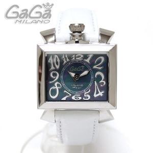 ガガミラノ GaGa Milano 腕時計 NAPOLEONE ナポレオーネ 40MM ホワイト/ホワイトレザー レディース 6030.4|ebsya