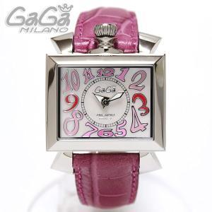 ガガミラノ GaGa Milano 腕時計 NAPOLEONE ナポレオーネ 40MM ピンクマルチ/ピンクレザー レディース 6030.6|ebsya